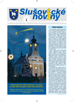 č. 3/2014 - Město Slušovice