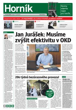 Horník - OKD, a.s.
