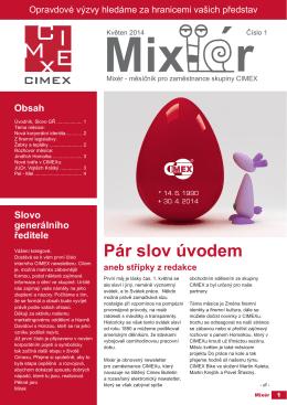Mixér 1