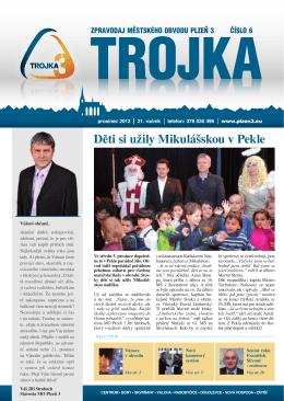 prosinec 2012 - Městský obvod Plzeň 3