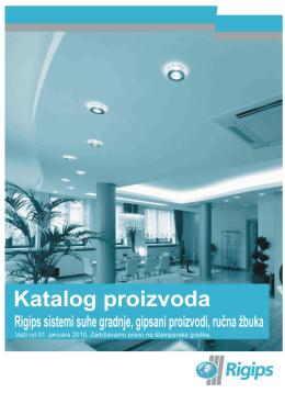 sadrţaj - Rigips