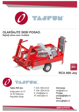 Tajfun reklama srpski.pdf - Tajfun RiS :: Batocina