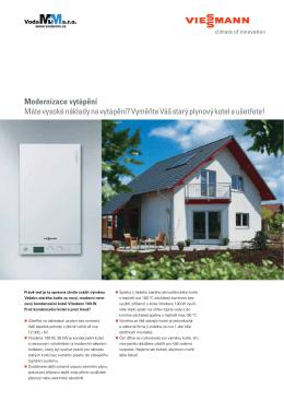 Modernizace vytápění Máte vysoké náklady na vytápění