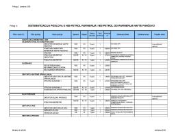 Predlog organizacije RNP
