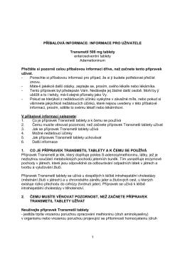 Příbalová informace - Abbott Laboratories