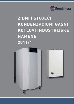 zidni i stojeći kondenzacioni gasni kotlovi industrijske namene 2011/1