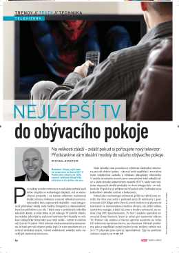 Testy - Nejlepší TV do obývacího pokoje