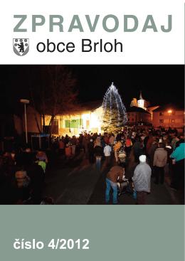 Zpravodaj Obce Brloh 2012/4