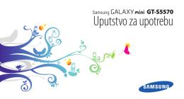 Samsung Galaxy Mini GT-S5570 Uputstvo za upotrebu