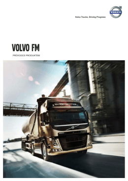 Volvo FM Průvodce Produktem 14.3 MB