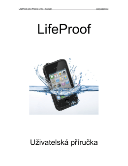 Manual LifeProof 4