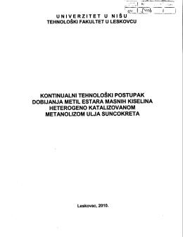 Kontinualni tehnoloski postupak dobijanja metil estara.pdf