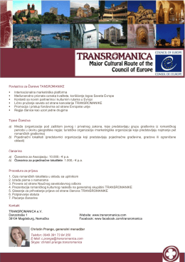 Factsheet - transromanica