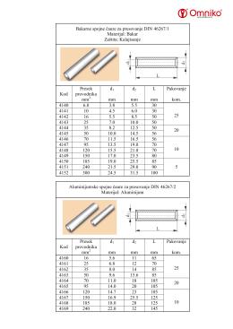 Bakarne spojne čaure za presovanje DIN 46267/1