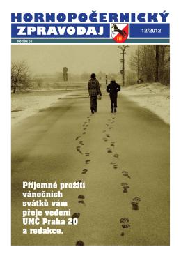 Hornopočernický zpravodaj 12/2012