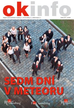 Magazín společností Broker Consulting, a. s., Fin