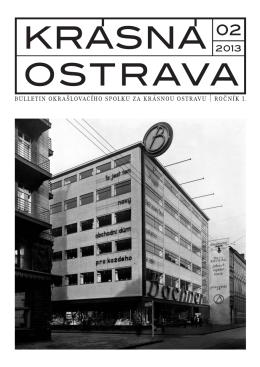 KROS 02 web.indd - Okrašlovací spolek Za krásnou Ostravu