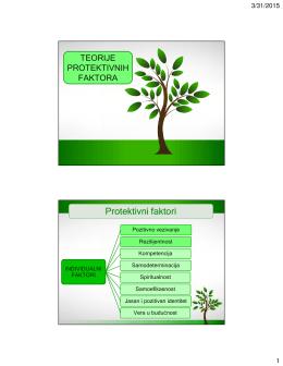 pp 10 – teorije protektivnih faktora
