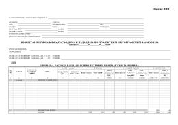 Obrazac IPPZ - Izveštaj o primanjima, rashodima i izdacima po