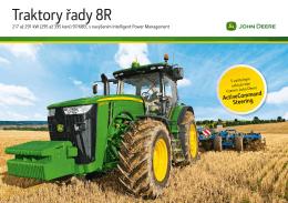 Traktory řady 8R