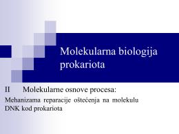 reparacija DNK i mutageneza 2015