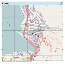 Kotor - MapOSMatic