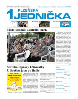Číslo 3/2012 - červen, 24 stran (PDF, 4 MB)