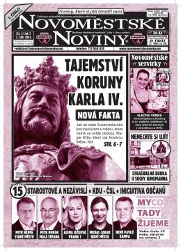 NOVOMESTSKE NOVINY