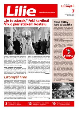 červenec 2014 - Farní charita Litomyšl