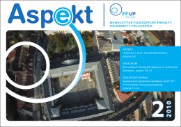 Stáhnout PDF - Aspekt - Univerzita Palackého v Olomouci