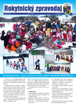 Leden / únor - Rokytnice nad Jizerou