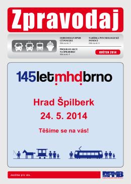 Hrad Špilberk 24. 5. 2014 - Dopravní podnik města Brna, as