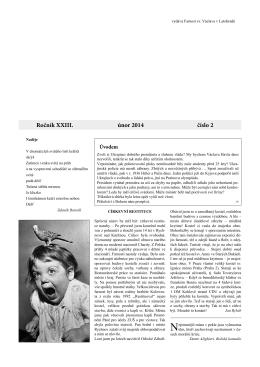 Okénko do farnosti 2/2014 (formát pdf) - Farnost Letohrad
