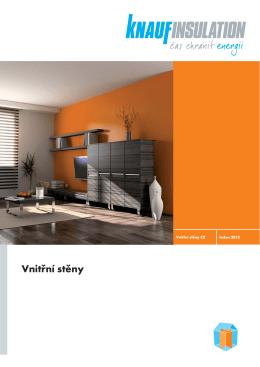Vnitřní stěny - Knauf Insulation