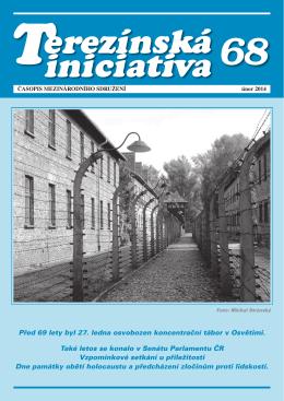 Časopis Terezínská iniciativa č. 68 - únor 2014