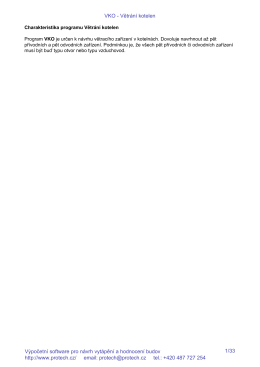 VKO - Větrání kotelen - PDF