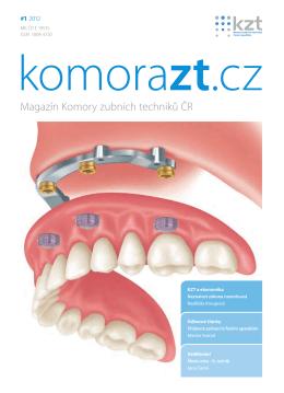 Magazín Komory zubních techniků ČR