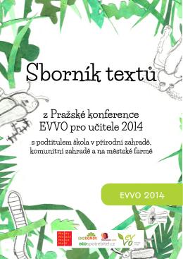 z Pražské konference EVVO pro učitele 2014