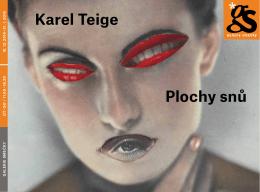Karel Teige Plochy snů - Památník národního písemnictví