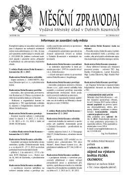 2/2015 - Dolní Kounice
