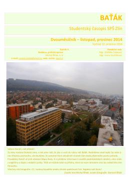 listopad - prosinec 2014 ke stažení ZDE