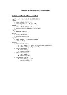 o neřešené příklady: 12