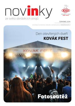 Fotosoutěž - Kovosvit MAS