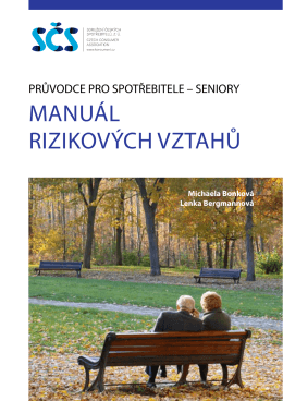 MANUÁL RIZIKOVÝCH VZTAHŮ - Sdružení českých spotřebitelů