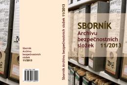 Sborník ABS 11/2013 - Archiv bezpečnostních složek