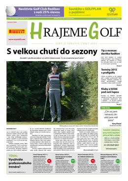 Stáhnout PDF - Hrajeme golf.cz