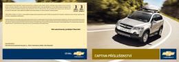 CAPTIVA PŘÍSLUŠENSTVÍ - Chevrolet