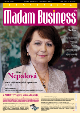 Červen - Prosperita Madam Business
