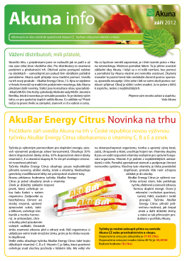 Akuna info