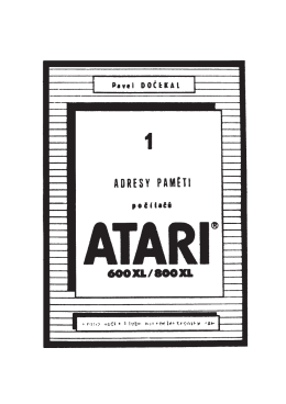 Adresy paměti počítačů ATARI 600XL/800XL